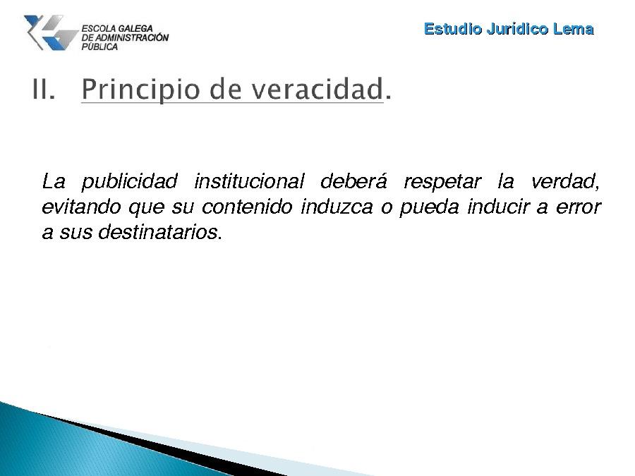 Os principios reitores da publicidade institucional
